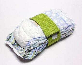 Lattice Diaper Strap - Green Phyllipa Lattice