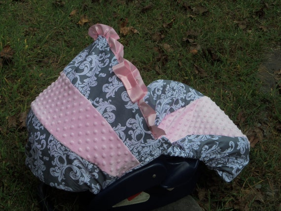 Graco Pink And Gray Infant Car Seat