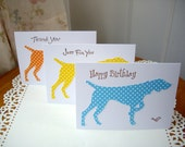 pointing dog stationery, pointing dog cards, hunting dog stationery, hunting dog cards, sporting dog cards, german short haired pointer