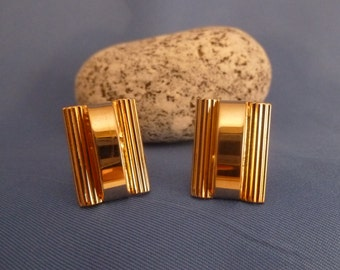 Pioneer Gold Toned Cuff Links