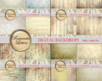 SALE Digital backdrop for Newborn digital photo backdrop background digital scrapbook paper Shabby chic newborn digital photo backdrop prop