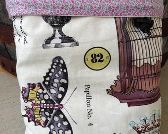 Botanika Wing Study - Knitting Project Bag - Phat Fiber