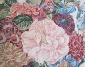 Cyrus Clark lovely flower fabric, gorgeous colors.
