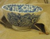 Flow Blue Bowl H&J Porcelain