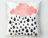 Raining Cloud Cushion Cover