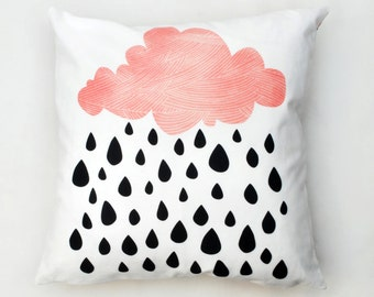 Raining Cloud Cushion Cover