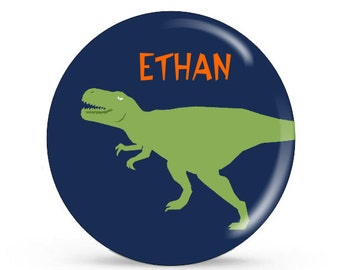 Personalized Plate - Dino - Customized Kids Plate