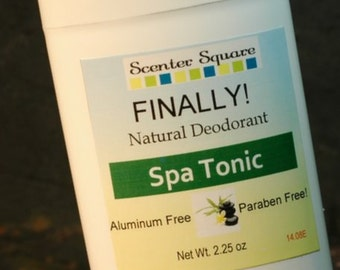 Finally! A Natural Deodorant that actually works -  Spa Tonic