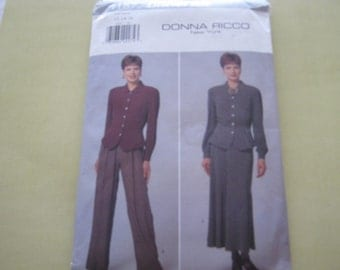 Butterick 4187 Pattern Misses' Petite Top, Skirt and Pants 12-16 Out Of Print