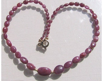 Ruby necklace, necklace, Ruby, gold, jewelry, necklace