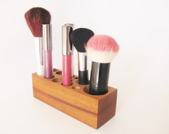 Make up Vanity Storage Organizer Help For A Tiny Space