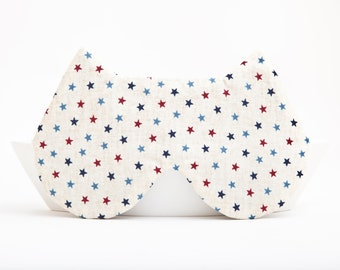 Sleep Mask Cat. Stars