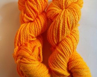 SALE  Ooogie Orange on Bulky SW Merino