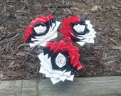Duct Tape Pokeball Flowers