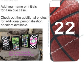 Personalized Custom Printed iPod Touch Plastic Case Basketball Design (iPod Touch 4th or 5th Gen)