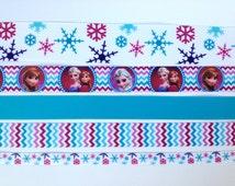 DIY Frozen Grosgrain Ribbon - Ribbon Bundle - Frozen Ribbon - Ribbon Pack - Hair Bow Supplies