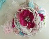 Baby Headband- Girls 1st Birthday Headband- Baby Girl Headband- Giggle Moon- Mustard Pie