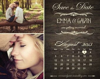 Taylor - Save The Date Magnets