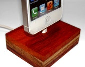 "Iphone 5 5S 5C dock - stand - docking station - ""Snow White"" - perfect gift for Christmas and New Year!"