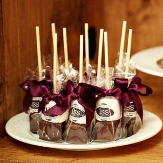 Personalized Hot Chocolate Wedding Favors