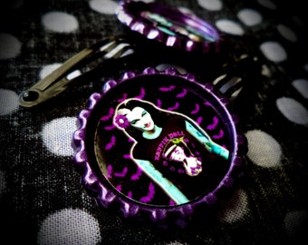 Mistress of the Night: Lily hair clips