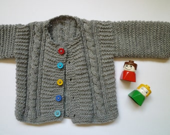 Knit baby boy sweater,baby girl sweater,free shipping