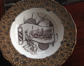 3 W T Copeland & Sons Stoke Upon Trent Spode Bowls