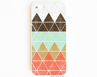 iPhone 5 Case. iPhone 5S Case. Geometric in Mountain. Phone Case. Phone Cases. Case for iPhone 5. Geometric Phone Case.