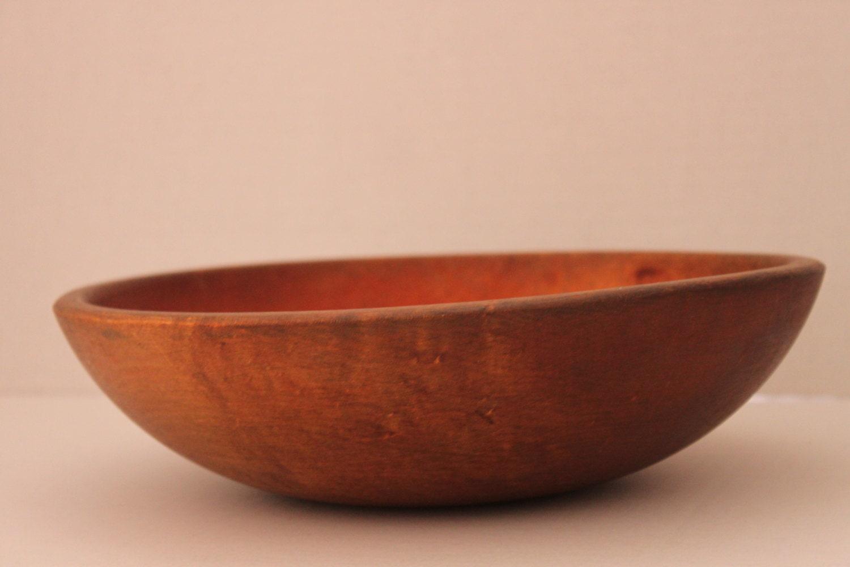 antique vintage wooden dough bowl eBay