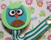 Baby Owl Soothie Pacifier Clip (OS02)