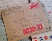 A Love Letter From World War II Era | Handwritten Correspondence Letter | Serviceman | Military