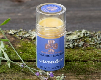 Body balm - Lavender Foot and Body Balm Stick - Foot Balm - Body Balm - Lavender Balm