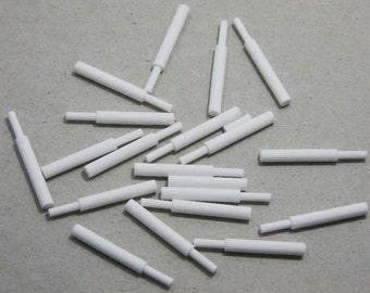 20 Pack Of Ceramic  Pins For Honeycomb Ceramic Soldering Blocks