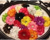 "10pcs. Puffy Flower Heads-4"""