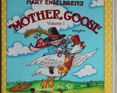 Mother Goose - Cloth Story Book - childrens reading book, kids book, babies book, reading