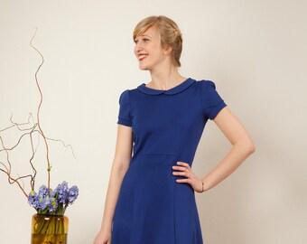 """Dress """"Julie"""" in royal-blue"""