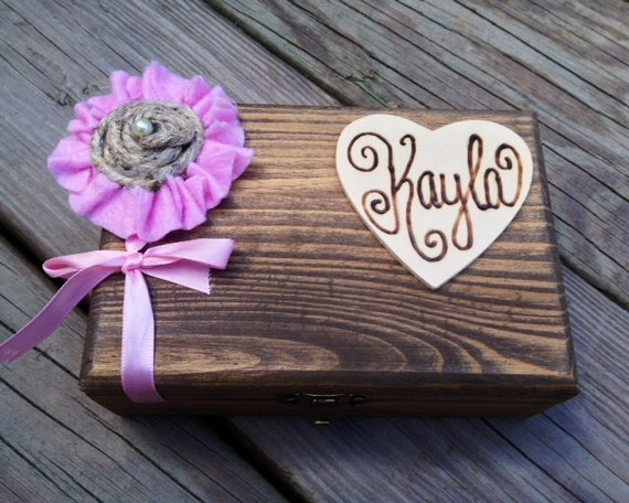 Wedding Keepsake Gifts For The Bride : Wedding Gift Idea for Her - Bridesmaid Gift Box - Keepsake Box - Small ...