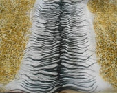 Stunning Soft & Silkie Scarf- Zebra Stripe-S104