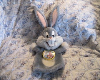 1991 Bugs Bunny Puppet By Warner Brothers Inc /Tag:)S Hand Puppet/Bug Bunny, Toys,Vintage Toys SALE Code CLEARINGOUT25 Must Use At Check out