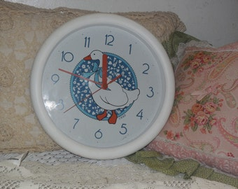 Goose or Duck Clock / Clearance marked down to sale/:)S
