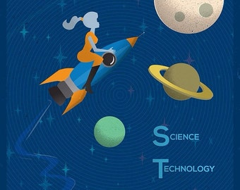 STEM Education Poster