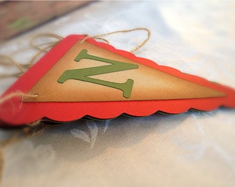 """NOEL"""" Christmas Banner - Vintage Inspired - Christmas Garland - Decoration - Red and Green - Winter"""