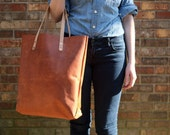 Summer Weight Leather Tote