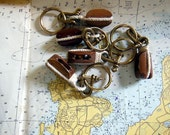 Two Vintage Nautical Key Chains, Reserved for fmgypsy