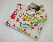 Campervans and Gnomes Party Purse