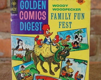 Woody Woodpecker Family Fun Fest Comic Book