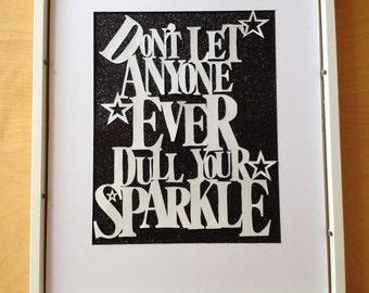 Papercut template