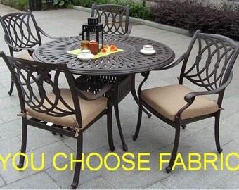 Elegant Custom Made Cushions, Chair Cushion Cover, Seat Cushion, Sunbrella Cushion,  Outdoor Cushion
