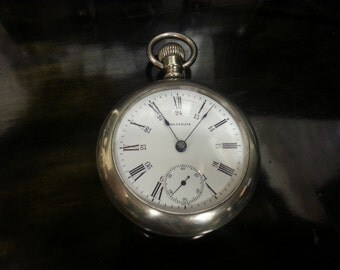 7 Jewel Waltham Pocket watch made 1902