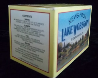 Unique Gift for Commuters - Four Cassette Tapes by A Prairie Home Companion's Garrison Keillor News from Lake Wobegon - PBS Favorite